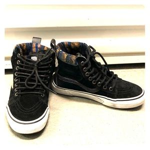 Gently used Weatherized Vans with Tribal Detail